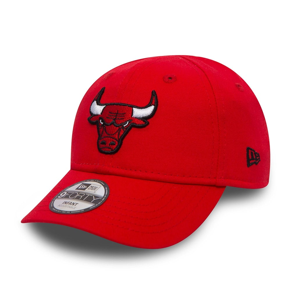 2f3664e927a08 New Era NBA Chicago Bulls Youth Essential 9Forty Adjustable Cap ...