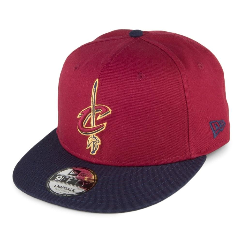 quality design 411e8 9e846 NBA Cleveland Cavaliers Team 9Fifty Adjustable Snapback Cap