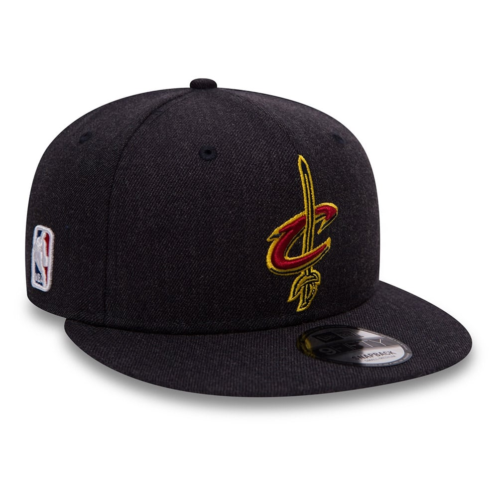 New Era NBA Cleveland Cavaliers Team Heather 9Fifty Snapback Cap ... 2307cba97e4