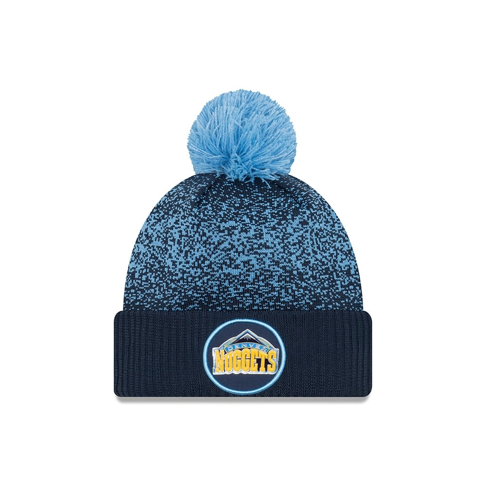 online store 68d55 00266 switzerland denver nuggets new era nba breakaway knit 8c36c a6c98  official  store nba denver nuggets on court 2017 pom knit d020f ef9e3