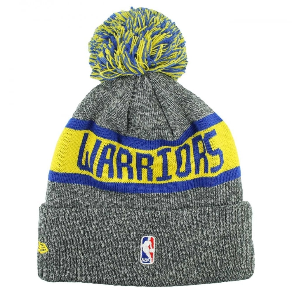 super popular df434 9c381 NBA Golden State Warriors Marl Cuff Bobble Knit