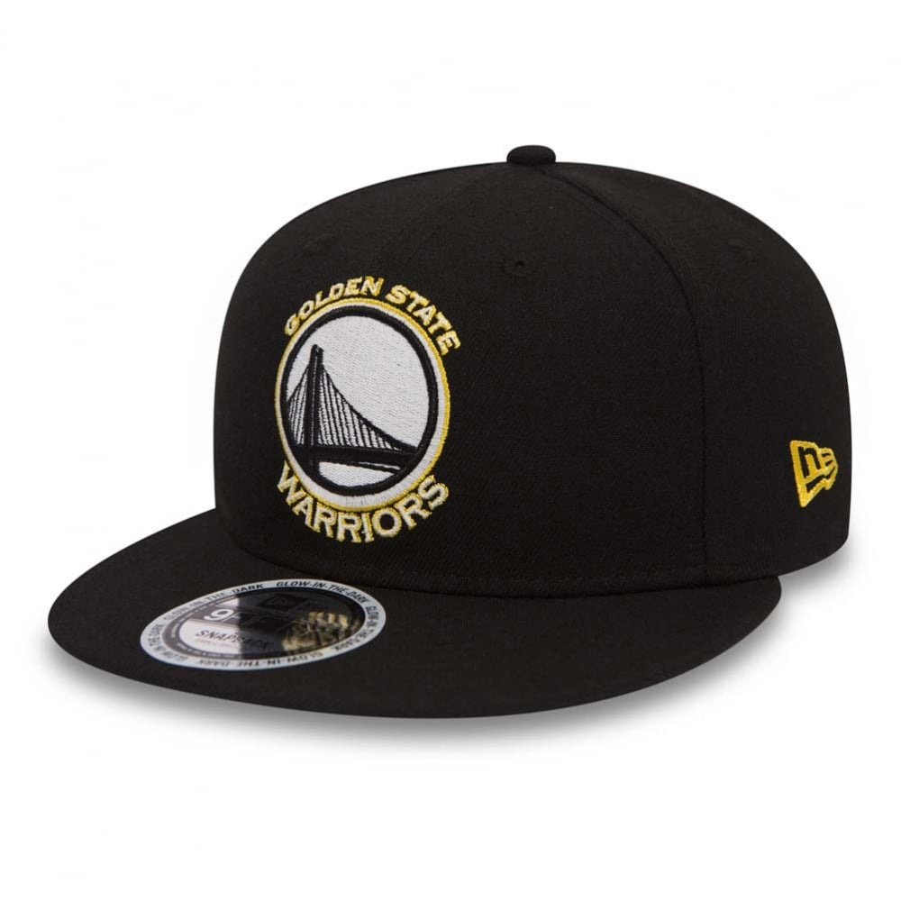 c469099301a New Era NBA Golden State Warriors Team Basic GITD 9Fifty Snapback ...