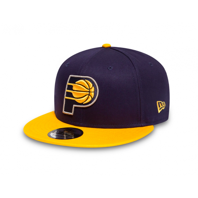 New Era NBA Indiana Pacers Team 9Fifty Adjustable Snapback Cap
