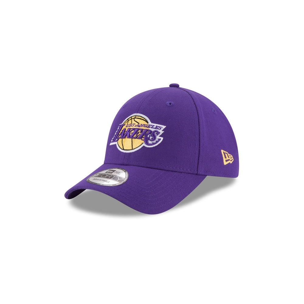 buy popular d2f93 65b3c NBA Los Angeles Lakers The League 9Forty Adjustable Cap