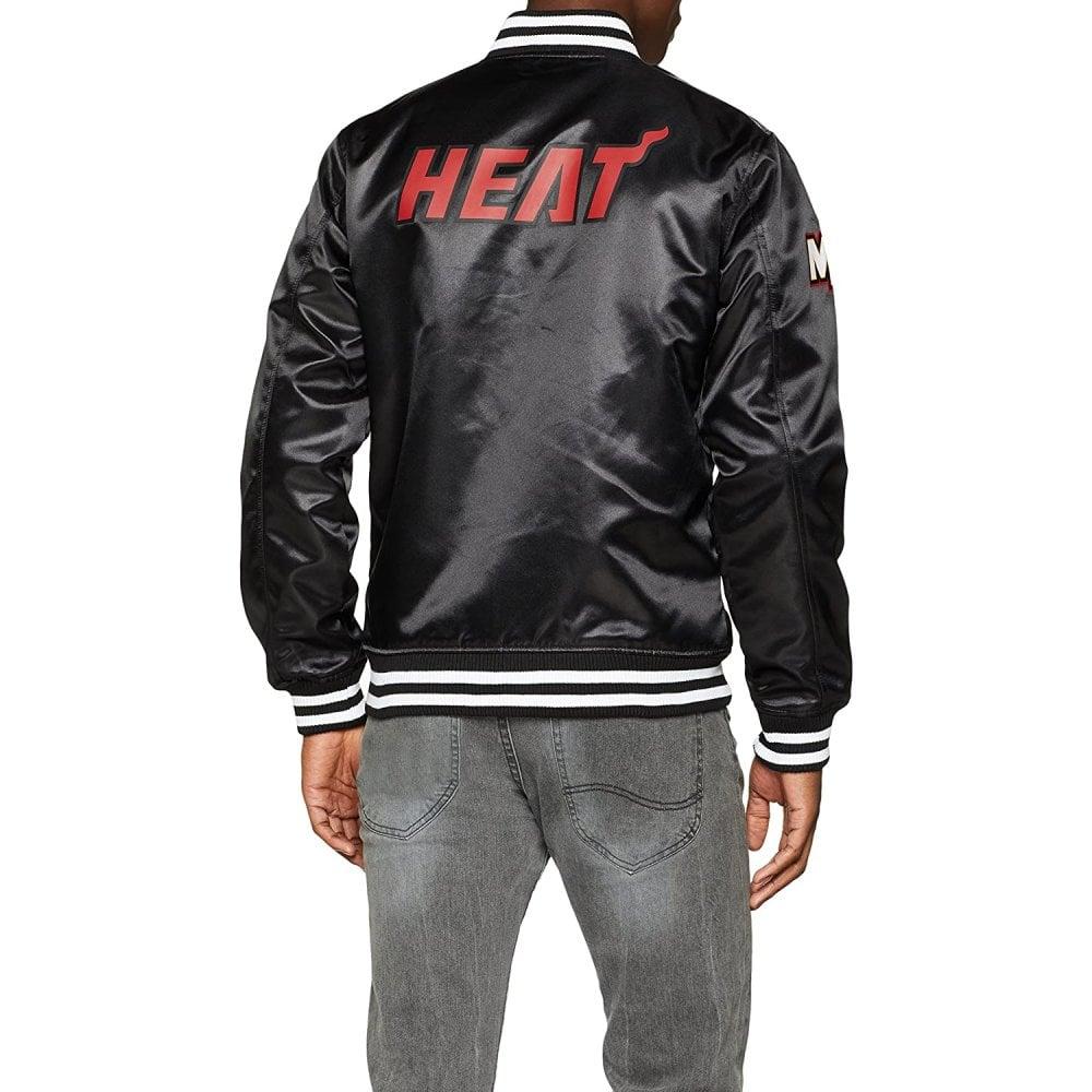 NBA Cleveland Cavaliers New Era Sateen Bomber Jacket Mens