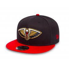 NBA New Orleans Pelicans Team 9Fifty Adjustable Snapback Cap