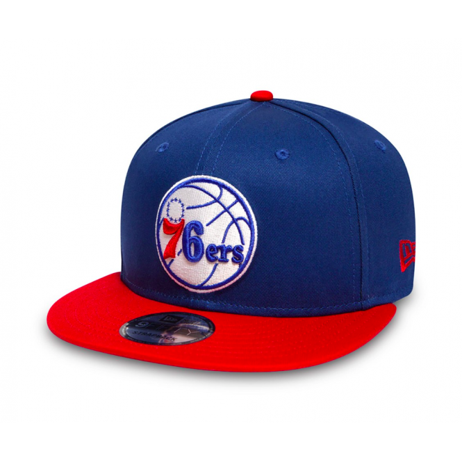 New Era NBA Philadelphia 76ers Team 9Fifty Adjustable Snapback Cap