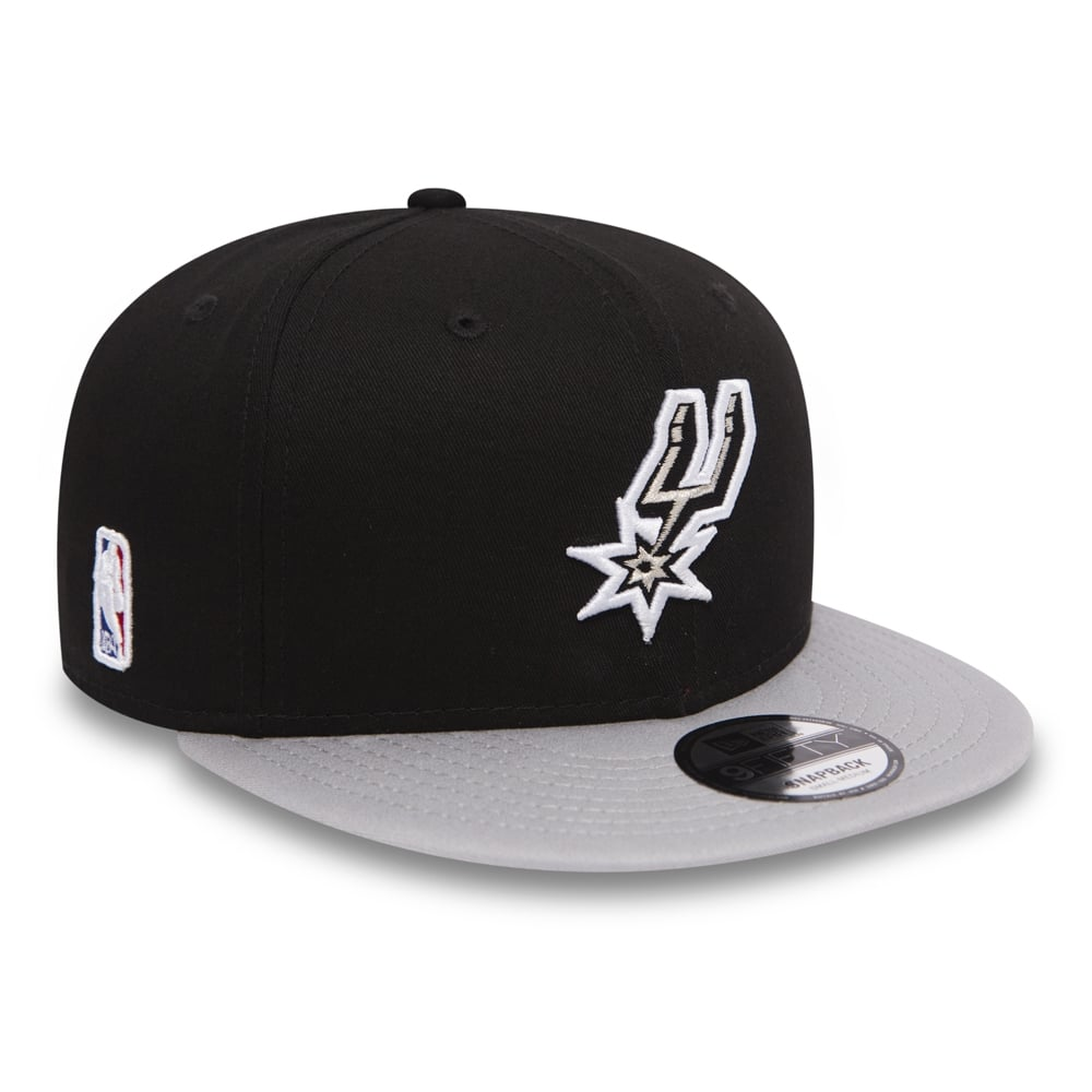 4dfa9ece3 NBA San Antonio Spurs Black Base 9Fifty Snapback Cap