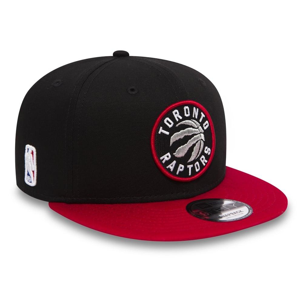 New Era NBA Toronto Raptors Black Base 9Fifty Snapback Cap ... 86687887cd3