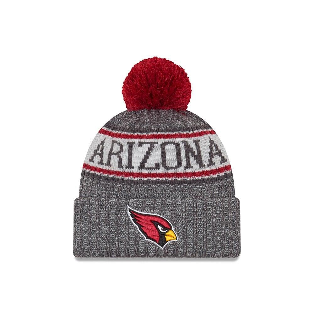 133821564314 New Era NFL Arizona Cardinals 2018 Sideline Graphite Sport Knit ...