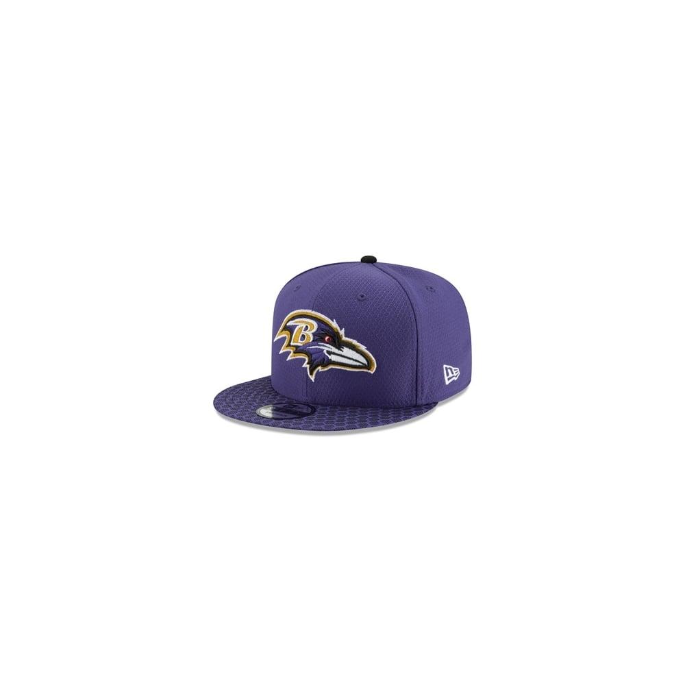 the best attitude 9da36 cc6da NFL Baltimore Ravens 2017 Sideline 9Fifty Snapback Cap
