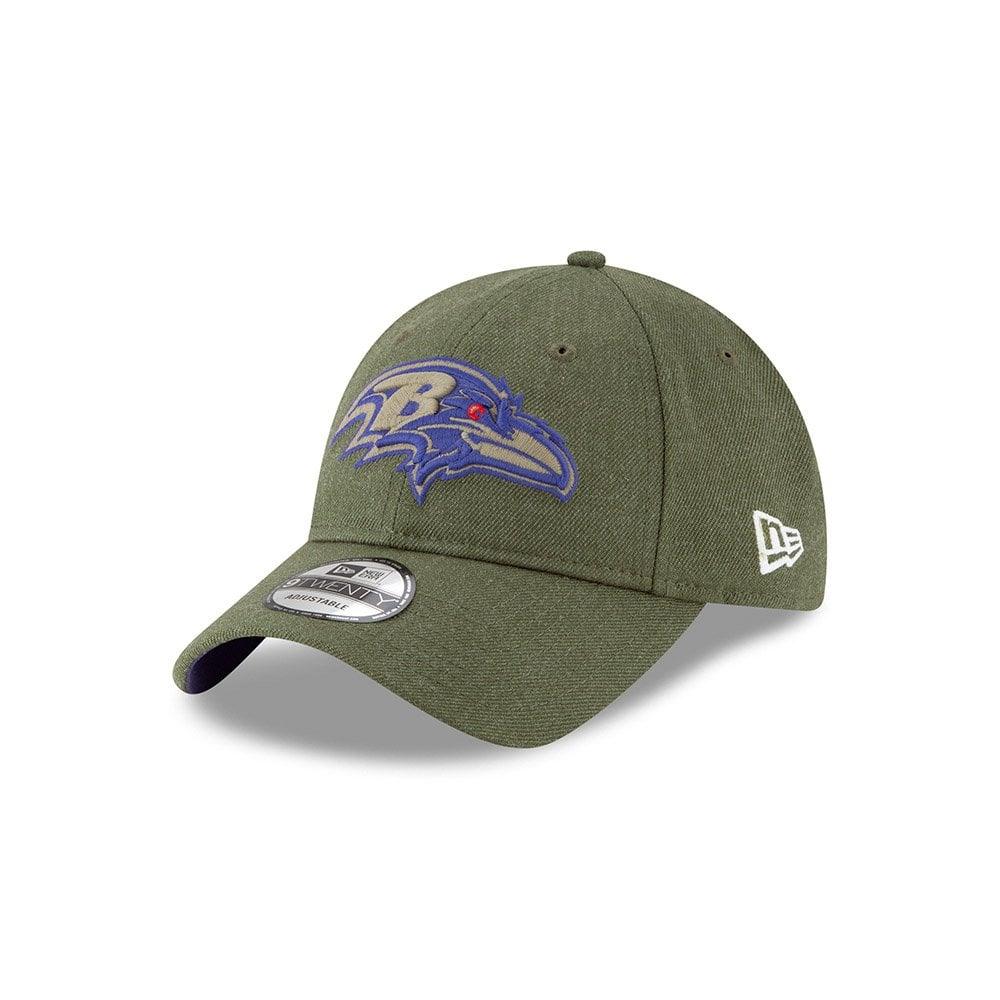 release date: 23ab6 8934e NFL Baltimore Ravens 2018 Salute to Service Sideline 9Twenty Adjustable Cap