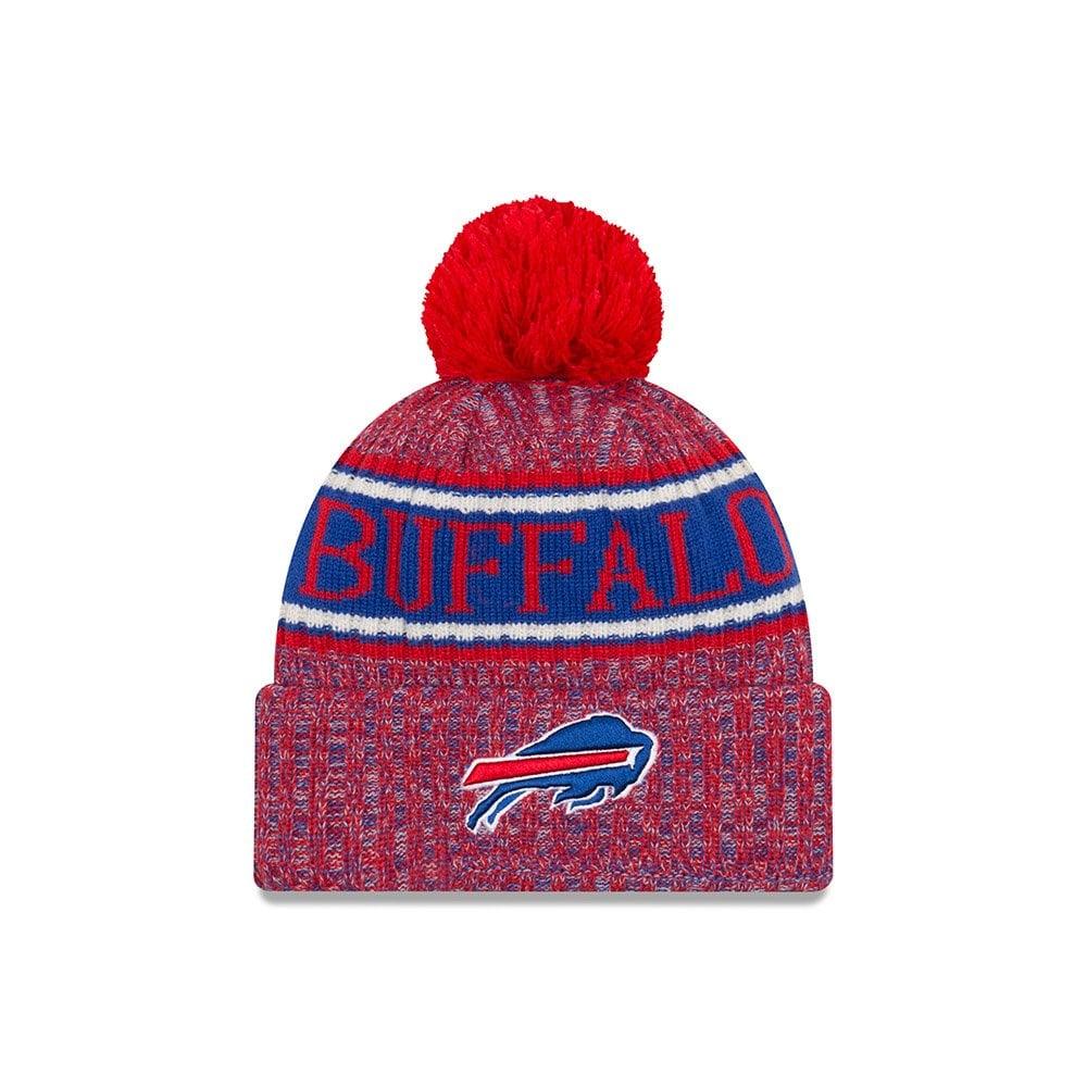 400ff87c7f81e5 New Era NFL Buffalo Bills 2018 Sideline Reverse Sport Knit - Teams ...