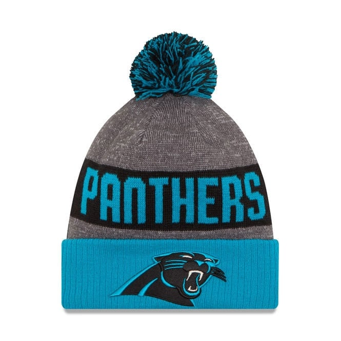 New Era NFL Carolina Panthers 2016 Sideline Official Sport Knit