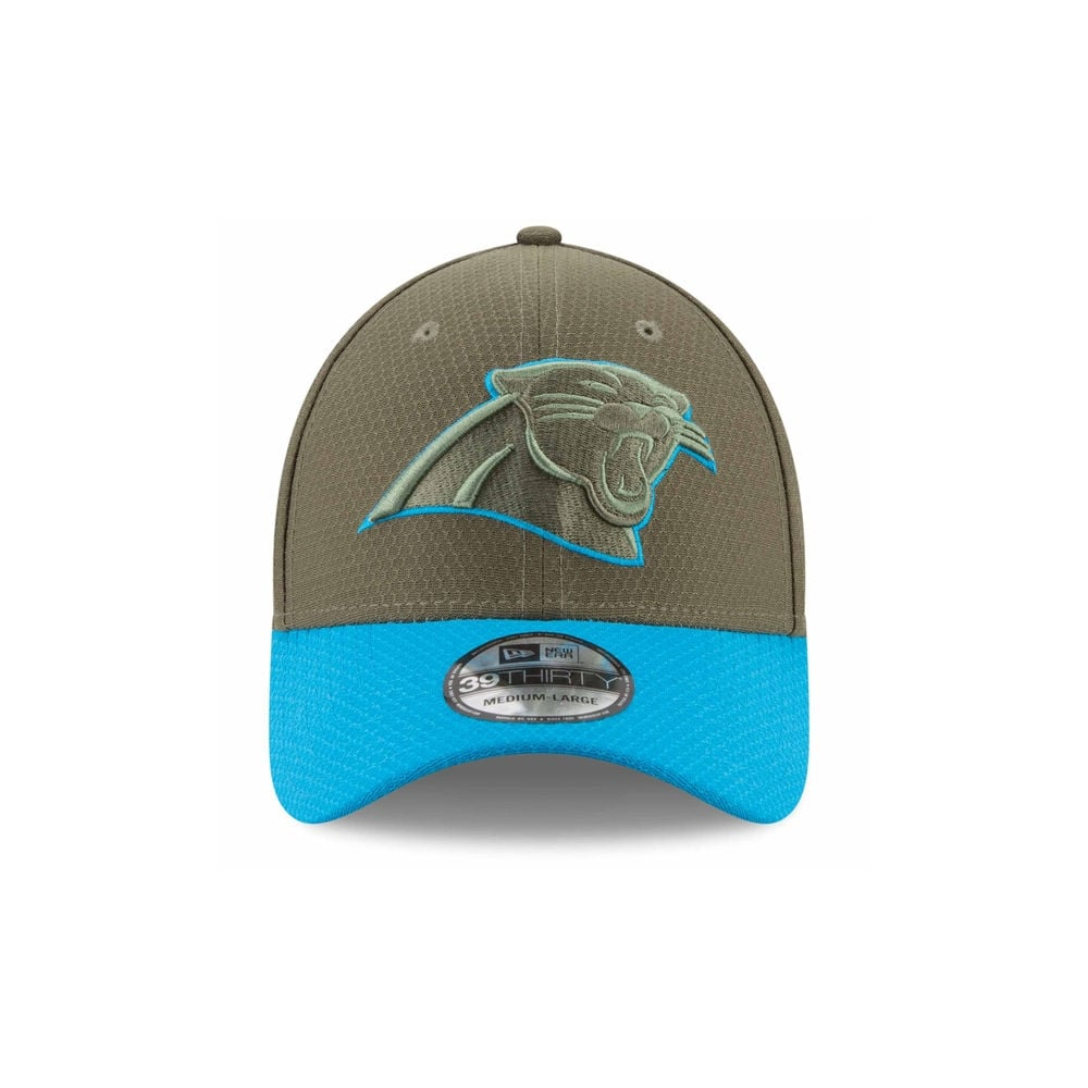 competitive price 0278a 03344 clearance nfl carolina panthers 2017 salute to service 39thirty cap 5ffcb  be21b