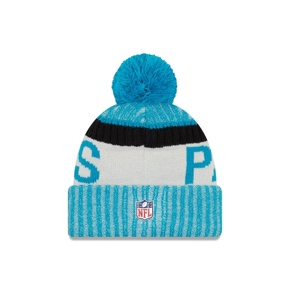 f43eb71112737e New Era NFL Carolina Panthers 2017 Sideline Sport Knit - Headwear ...