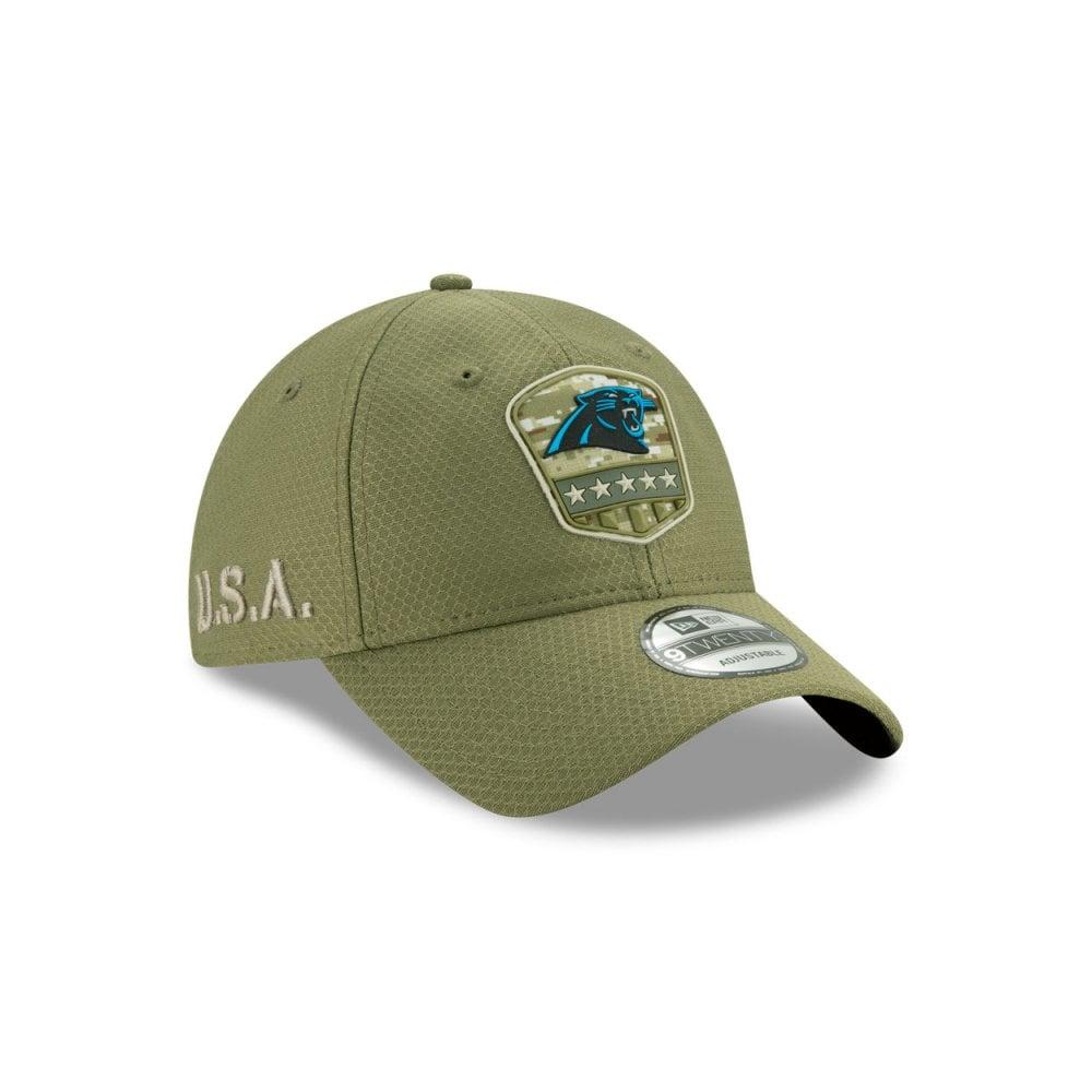 New Era 9Twenty Cap Salute to Service Carolina Panthers