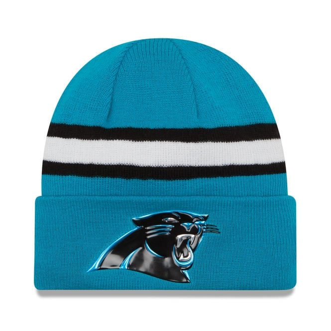 New Era NFL Carolina Panthers Colour Rush On Field Cuffed Knit
