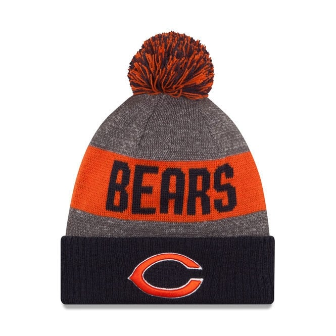 New Era NFL Chicago Bears 2016 Sideline Official Sport Knit