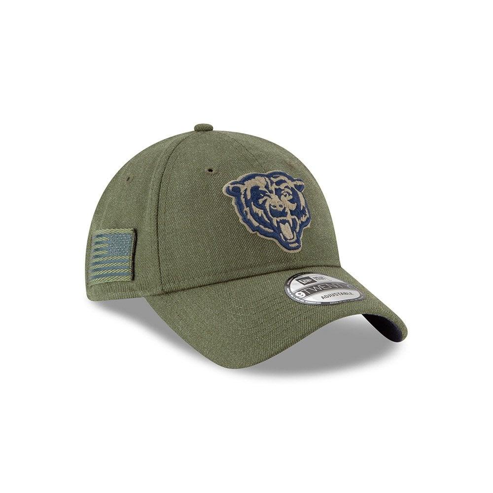 5e41267b981 NFL Chicago Bears 2018 Salute to Service Sideline 9Twenty Adjustable Cap