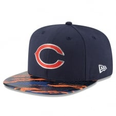 NFL Chicago Bears 9Fifty Colour Rush On Field Original Fit Snapback Cap