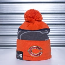 NFL Chicago Bears Gold Collection Pom Knit