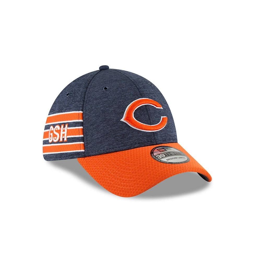 New Era NFL Chicago Bears Sideline 2018 39Thirty Cap - Teams from ... 914b1eee0