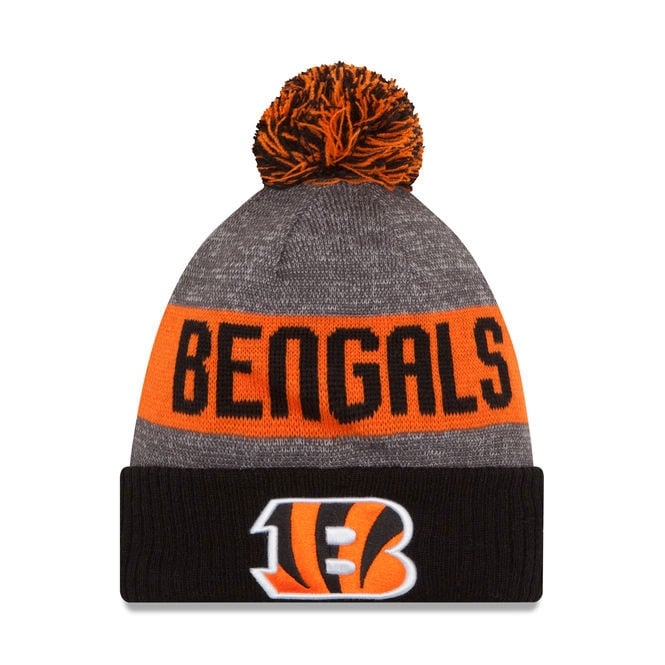 New Era NFL Cincinnati Bengals 2016 Sideline Official Sport Knit