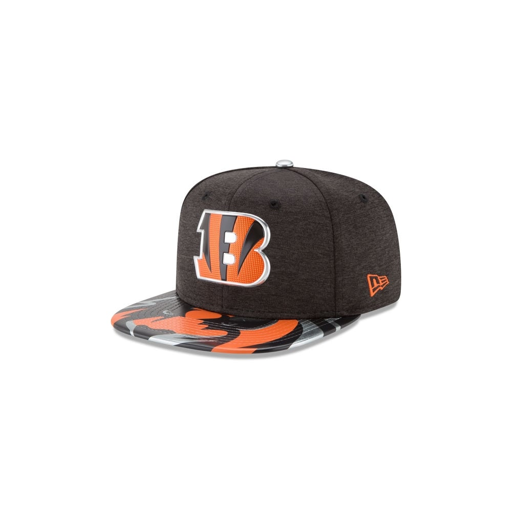 New Era NFL Cincinnati Bengals 2017 Draft 9Fifty Snapback Cap ... beded1cfa