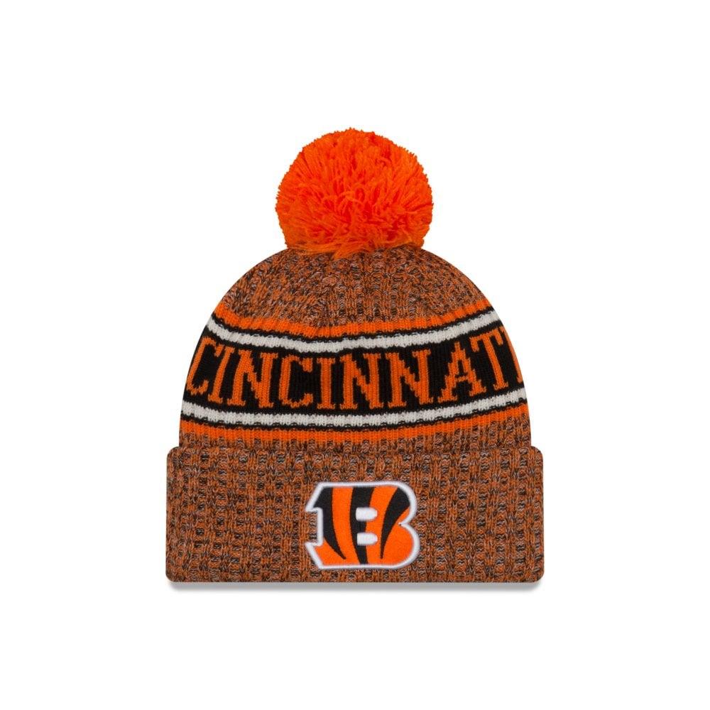 686c44b5 New Era NFL Cincinnati Bengals 2018 Sideline Reverse Sport Knit