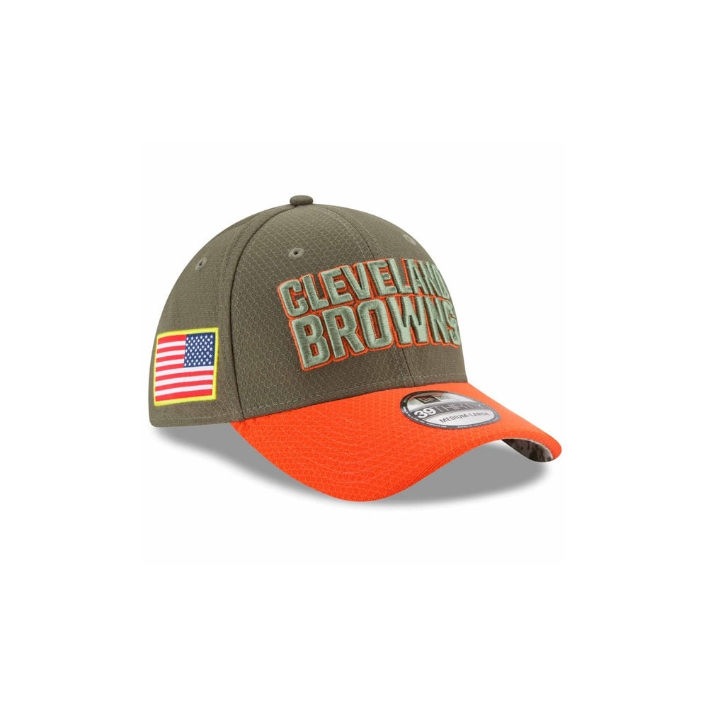 cheap for discount a5b18 c8571 ... discount code for nfl cleveland browns 2017 salute to service 39thirty  cap 4a731 4d255