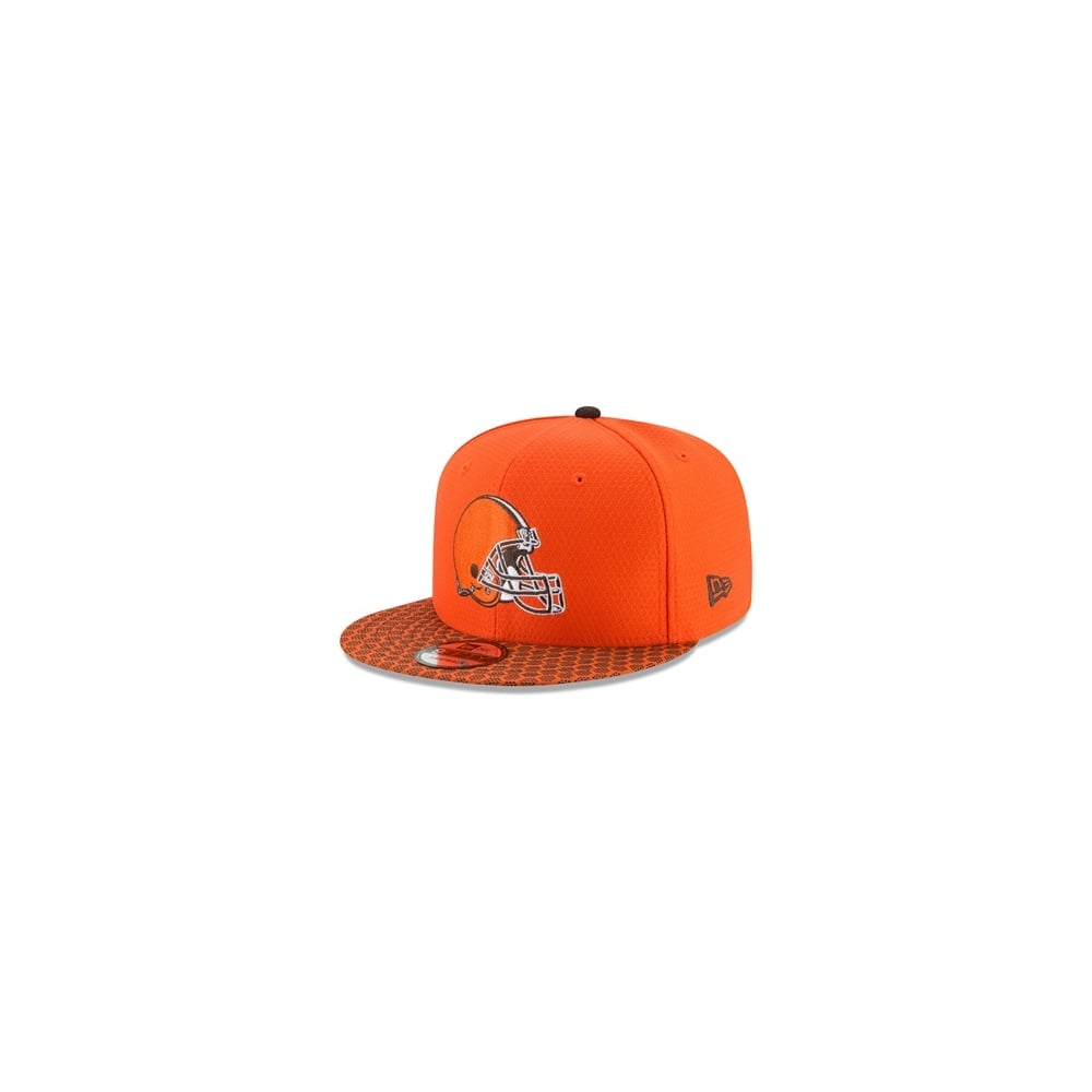 reputable site f13dc 4fba0 NFL Cleveland Browns 2017 Sideline 9Fifty Snapback Cap