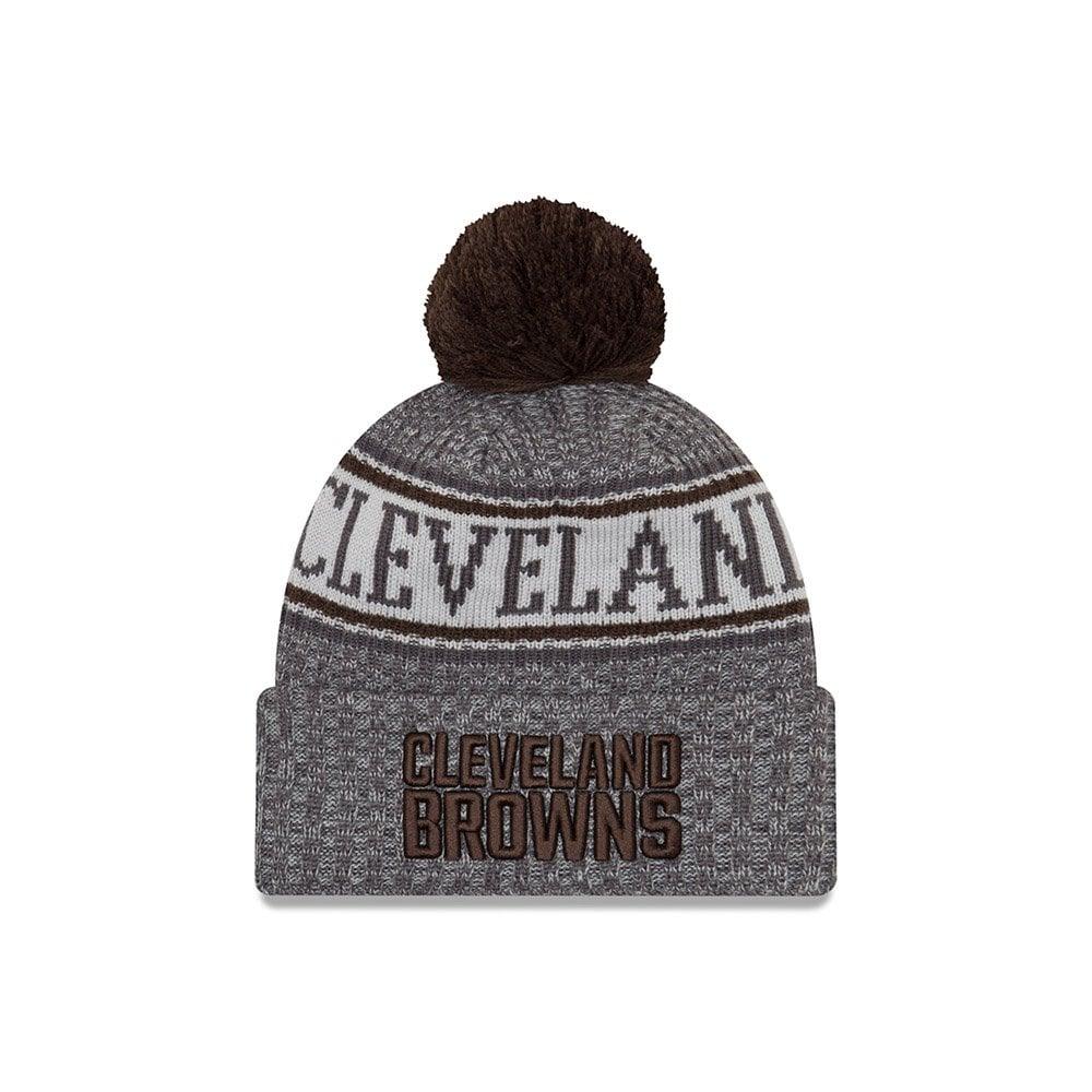 828fa3556 discount new era cleveland browns nfl sideline sport knit hat usa ae999  ebc35