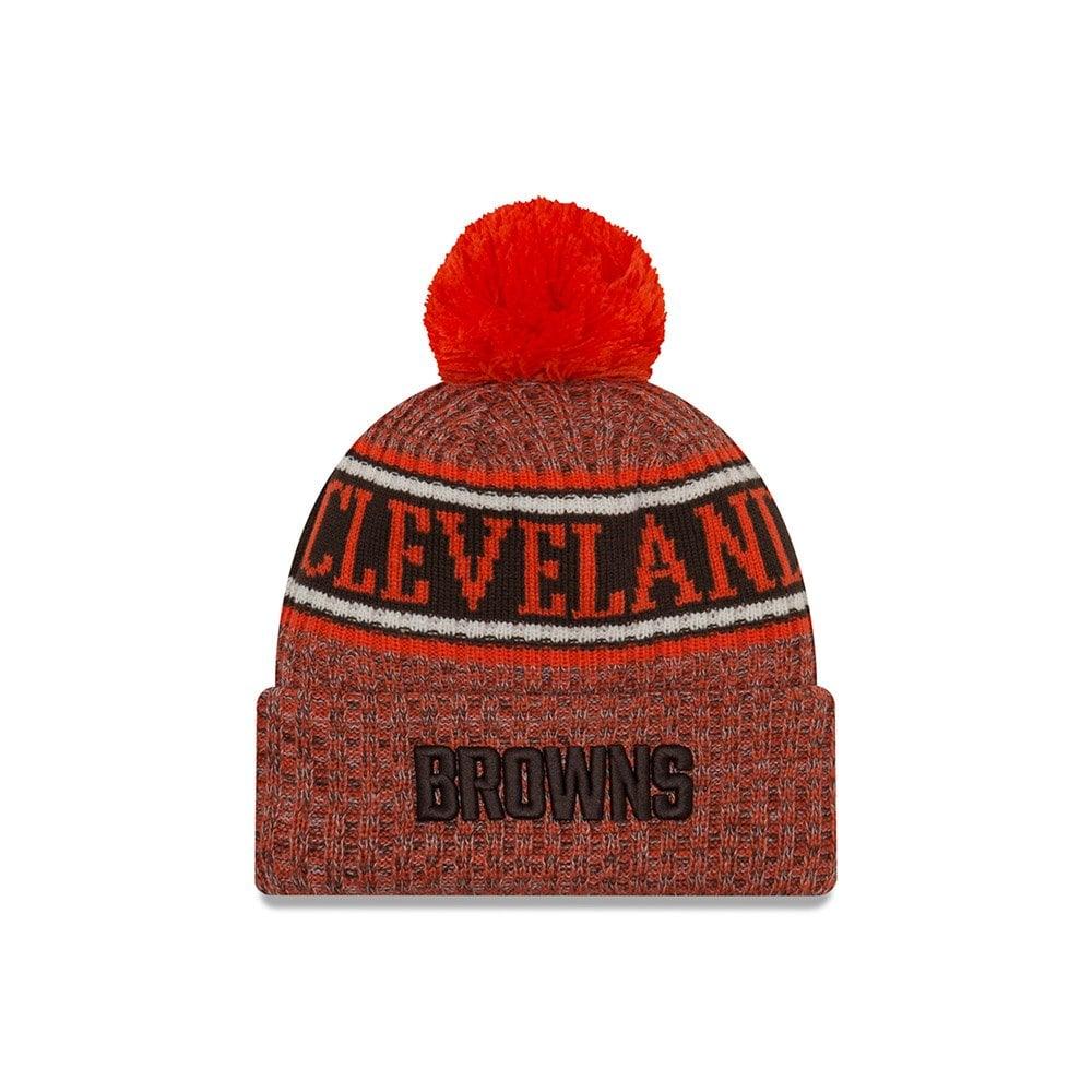 67836fbb423 New Era NFL Cleveland Browns 2018 Sideline Reverse Sport Knit ...