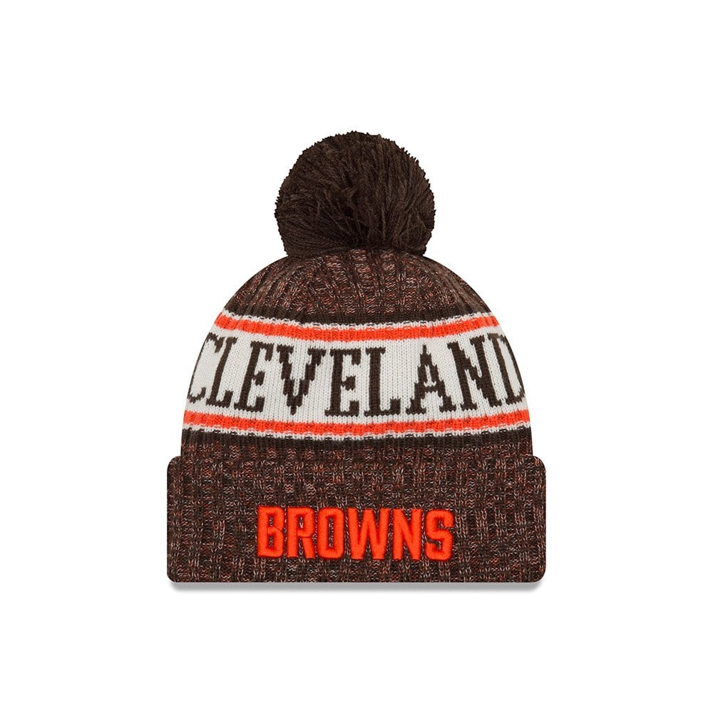 327ddacb3cf1a New Era NFL Cleveland Browns 2018 Sideline Sport Knit - Knits from ...