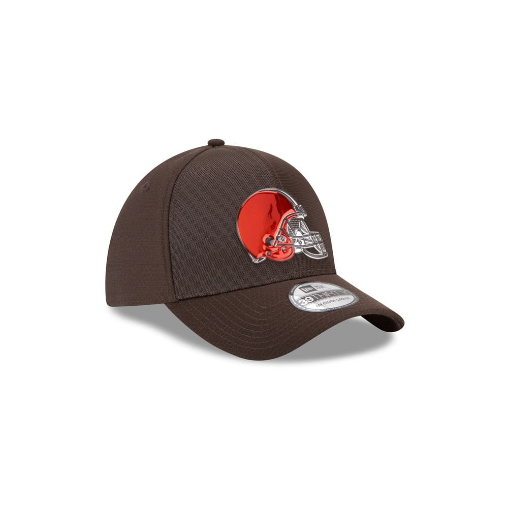 718fa026ed2d3c czech cleveland browns new era 2017 nfl on field color rush 39thirty ...