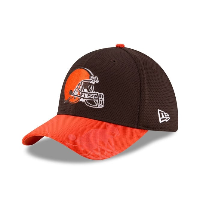 New Era NFL Cleveland Browns 39Thirty Sideline Cap