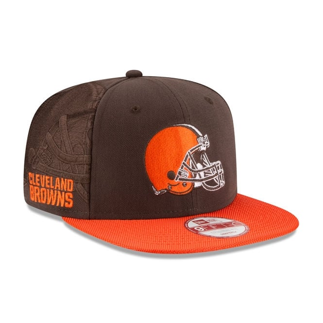 New Era NFL Cleveland Browns 9Fifty Sideline Snapback Cap