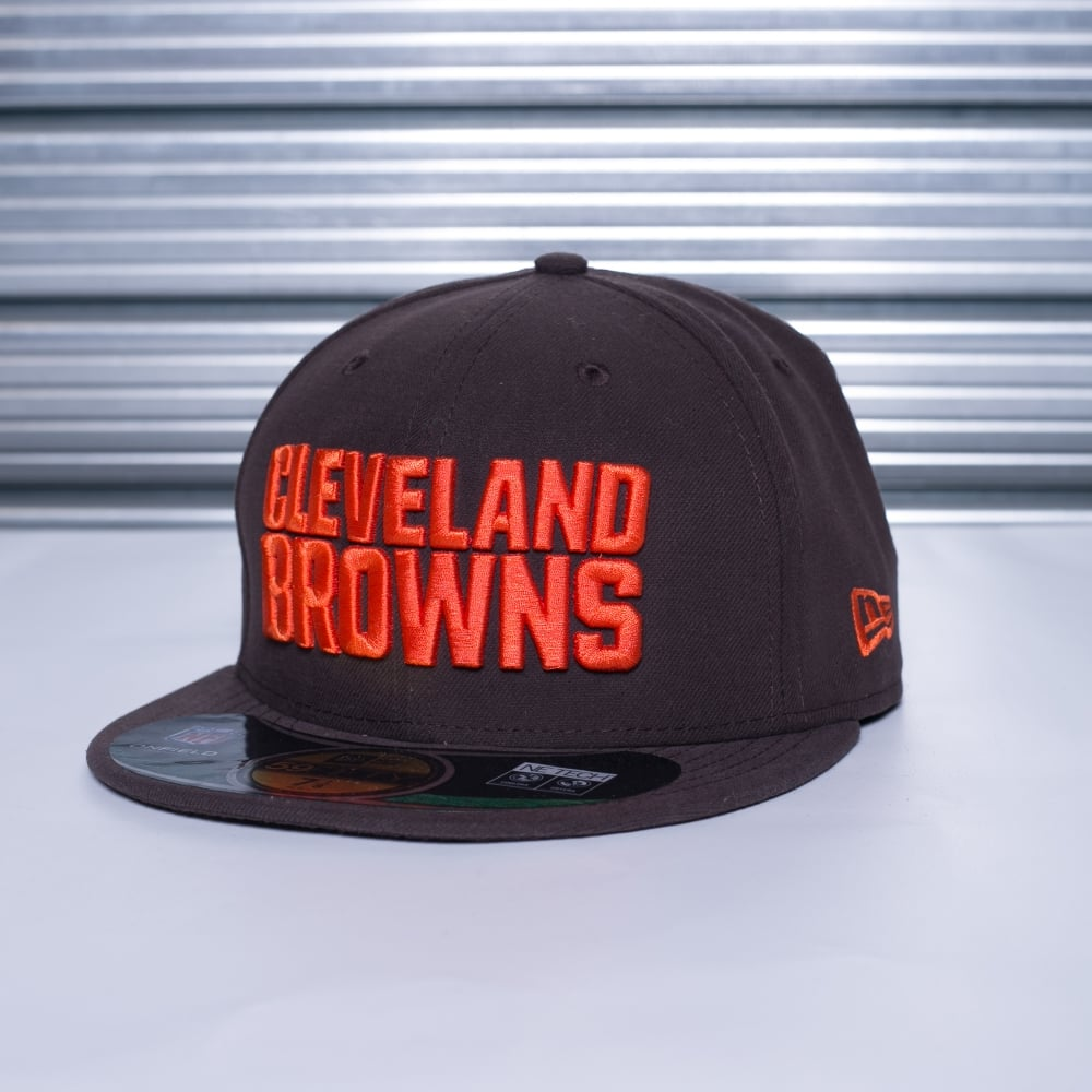 6f12746f53f New Era NFL Cleveland Browns On Field 59Fifty Cap - Teams from USA ...