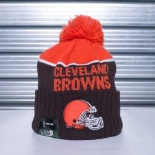 NFL Cleveland Browns On Field Sport Pom Knit