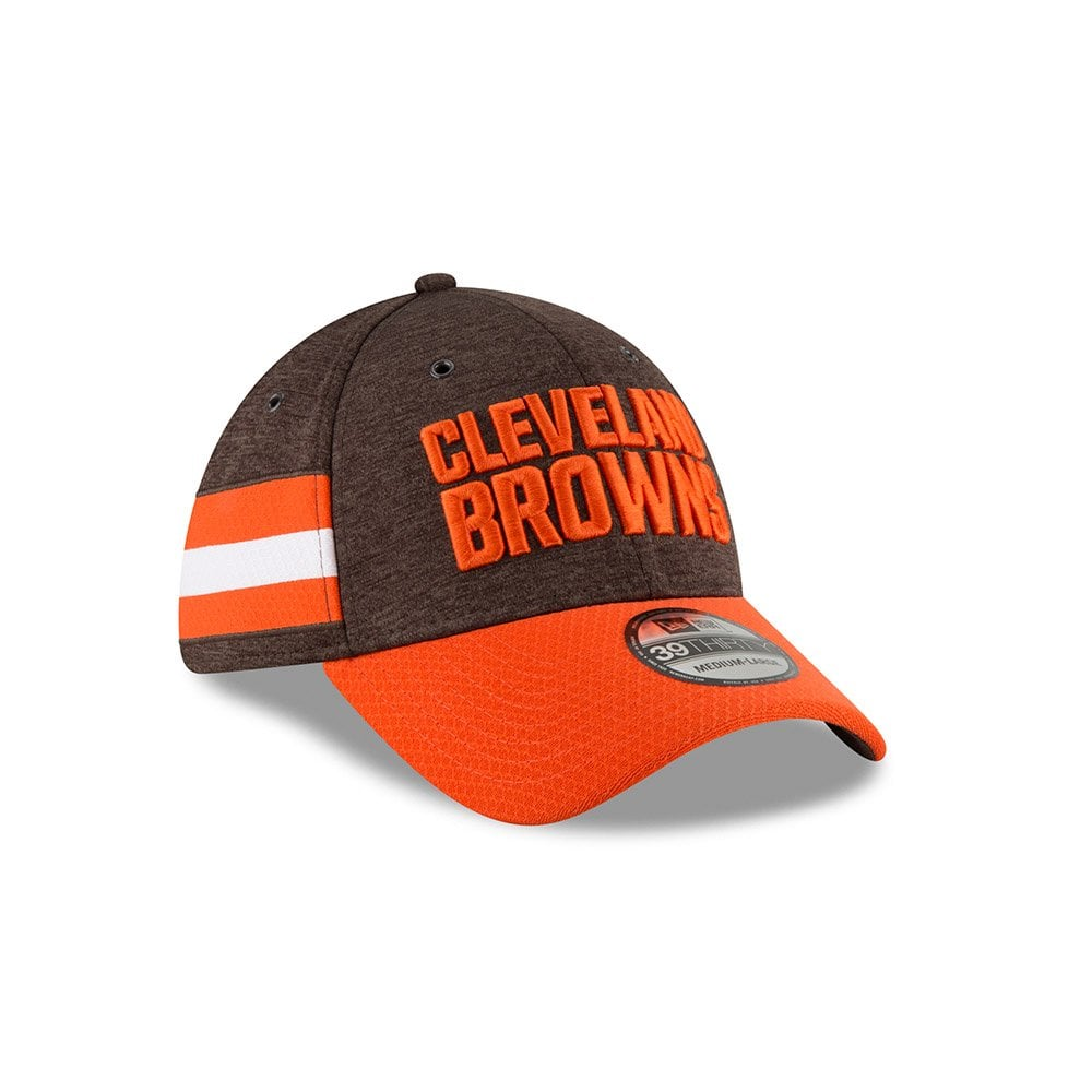 New Era NFL Cleveland Browns Sideline 2018 39Thirty Cap - Teams from ... 5203d446cf6