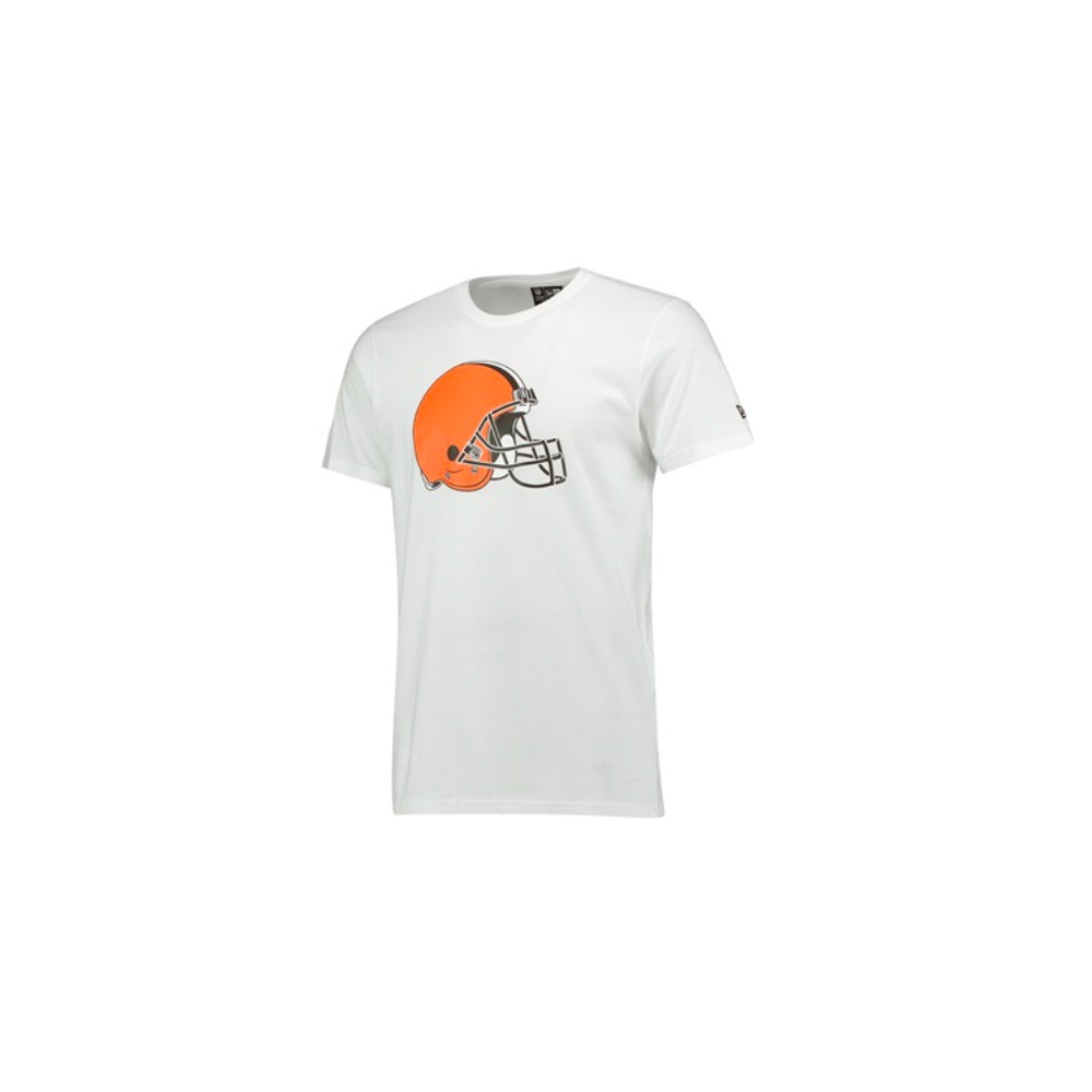 2bd35b695ac New Era NFL Cleveland Browns White Team Logo T-Shirt - Teams from ...
