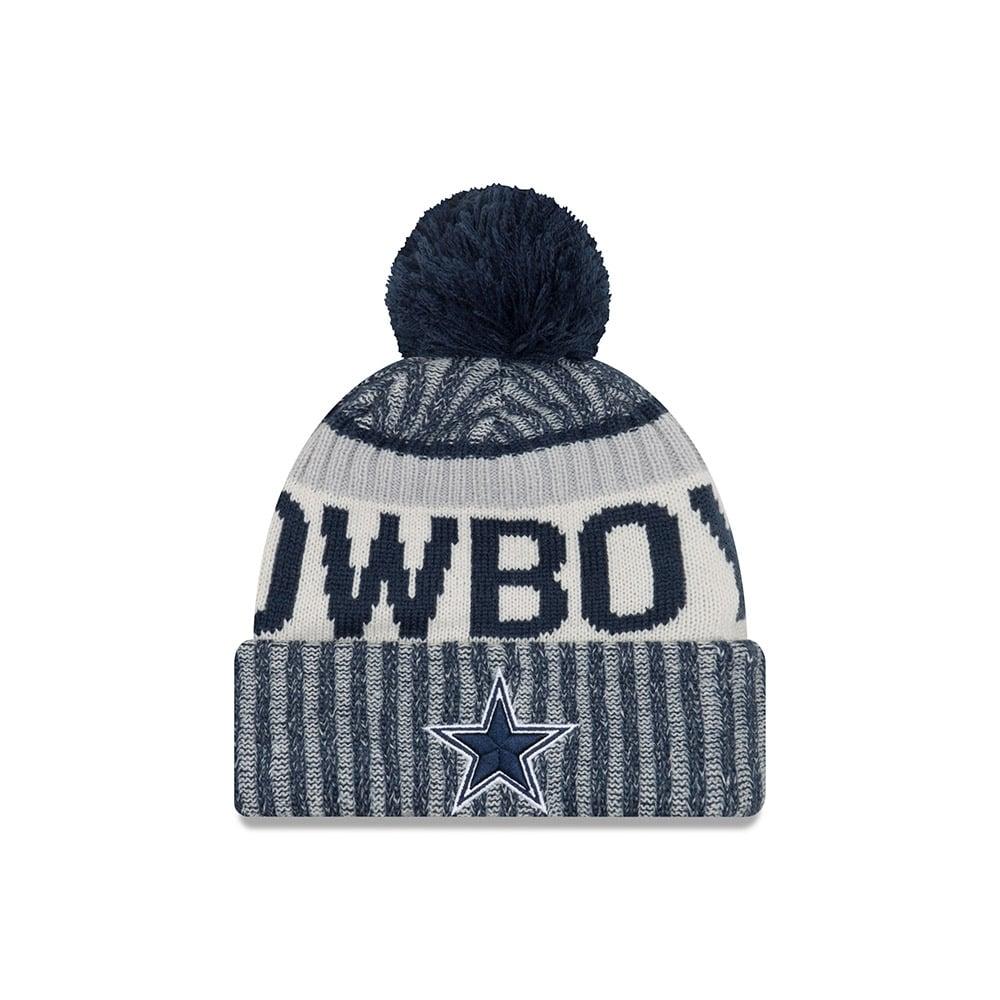 New Era NFL Dallas Cowboys 2017 Sideline Sport Knit - Headwear from ... 0cd98cb92