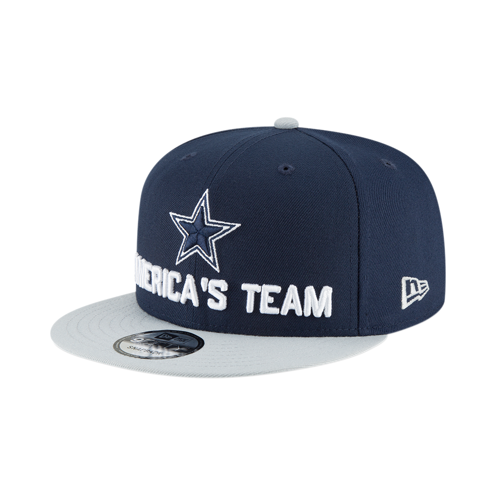 New Era NFL Dallas Cowboys 2018 Draft Spotlight 9Fifty Snapback Cap ... d86163d9b