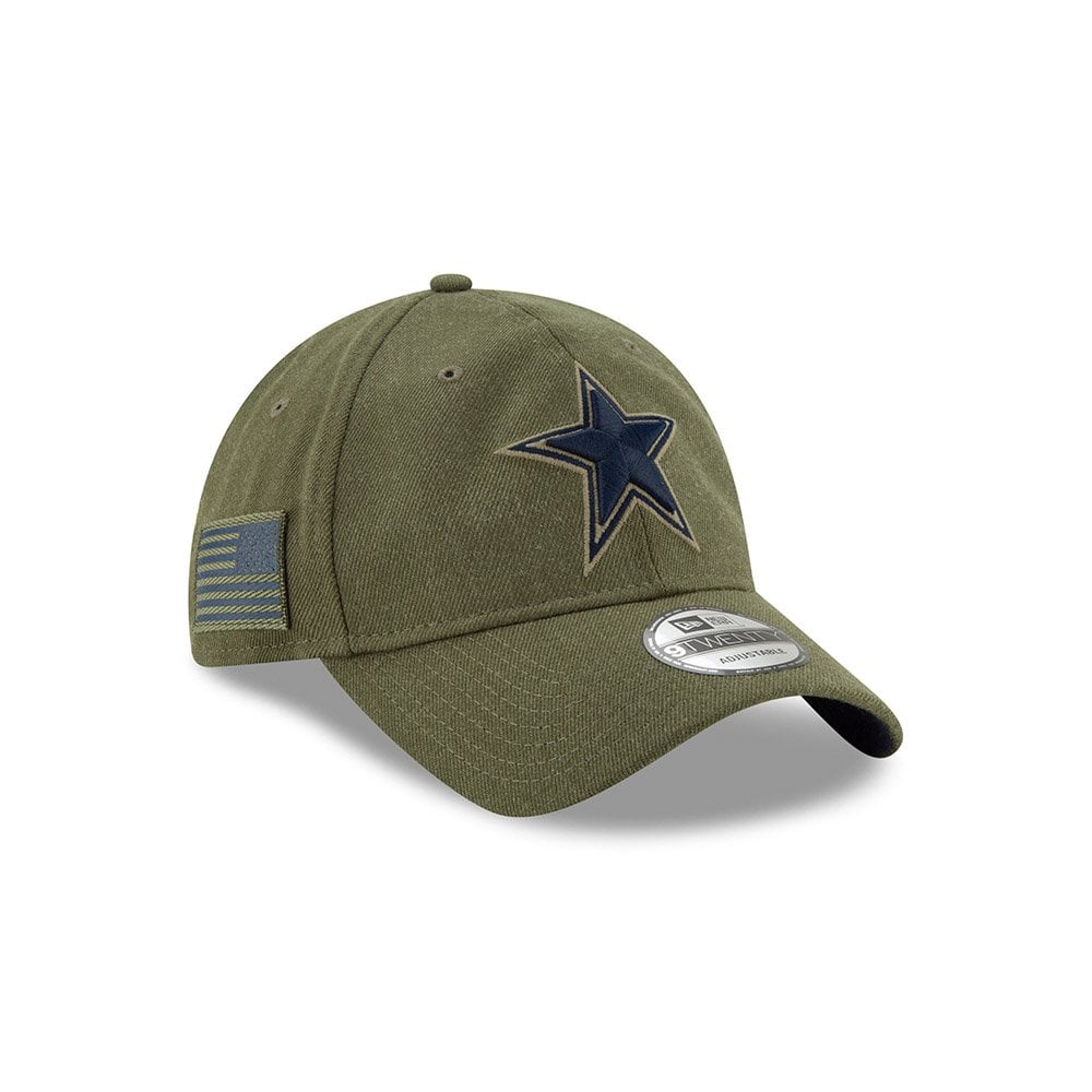 1e1d1c58f1a NFL Dallas Cowboys 2018 Salute to Service Sideline 9Twenty Adjustable Cap