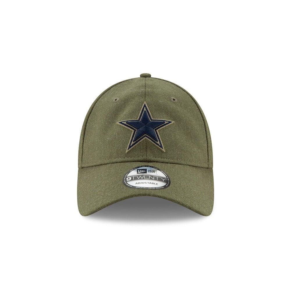 0b89a77a13c NFL Dallas Cowboys 2018 Salute to Service Sideline 9Twenty Adjustable Cap
