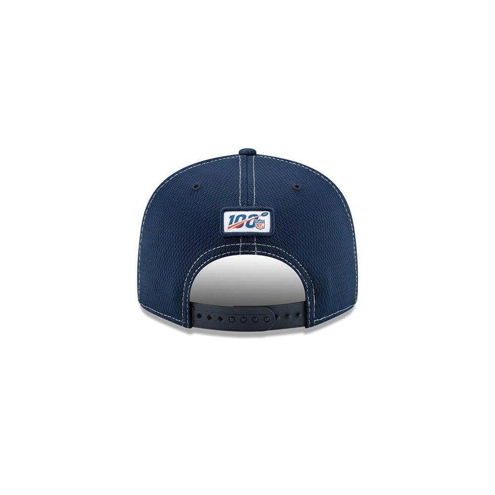 New Era Dallas Cowboys 2019 Official Road Sideline 9FIFTY Snapback Cap