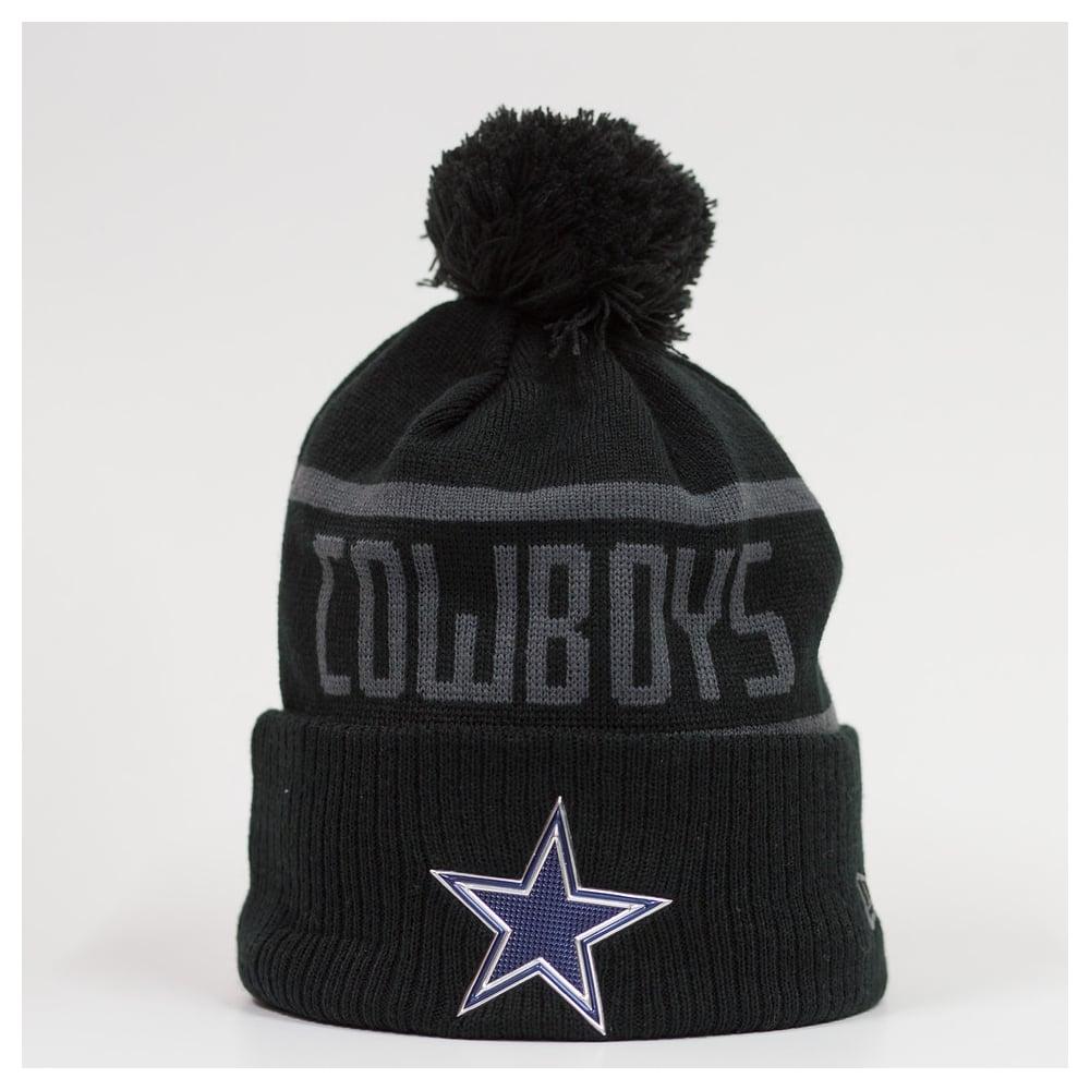 buy online a1f66 76069 NFL Dallas Cowboys BC Cuffed Pom Knit