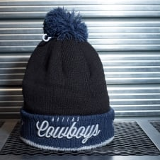 NFL Dallas Cowboys Pom Time Pom Knit