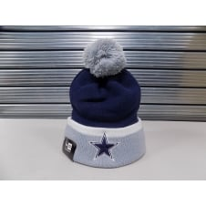 NFL Dallas Cowboys Team Cuff Pom Knit